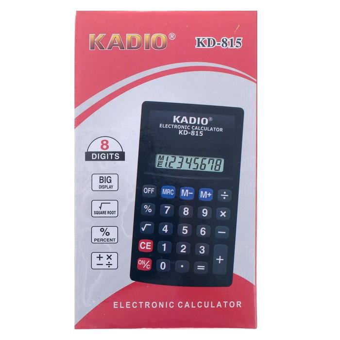 Калькулятор настольный, 8-разрядный, 815 - фото 443620139