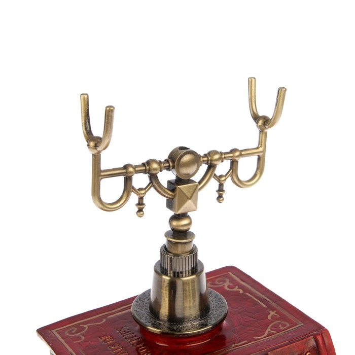 Телефон ретро полистоун. Фундамент из книг 16*25 см