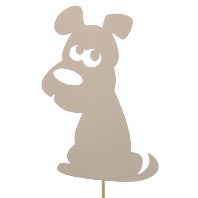 Топпер «Пёсик», белый, 7,5х10 см