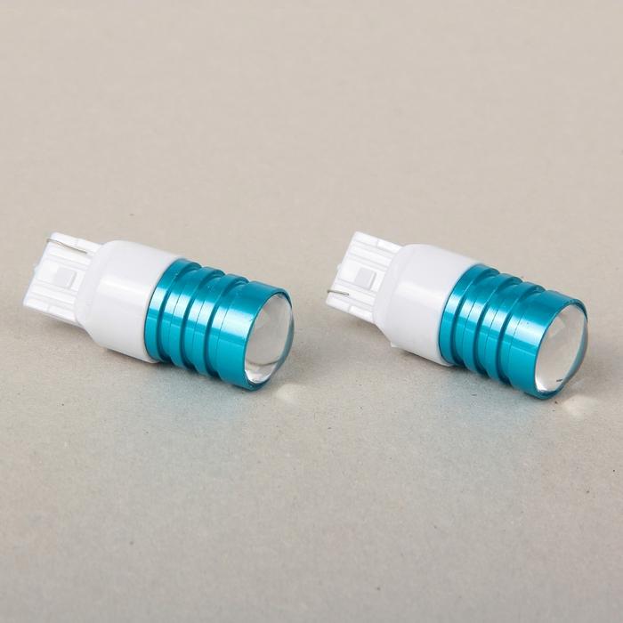 Автолампа светодиодная 7440 (T20) W21W, 1 LED-COB
