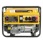 Генератор DENZEL GE 8900, бензиновый, 8.5 кВт, 220 В/50 Гц, 25 л, ручной старт