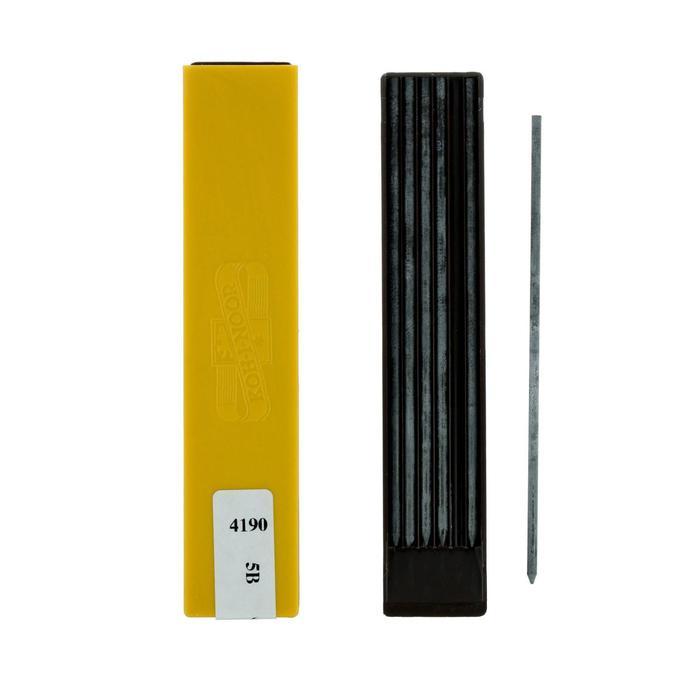 Грифели для цанговых карандашей 2.5 мм K-I-N 4190 5В, 6 штук