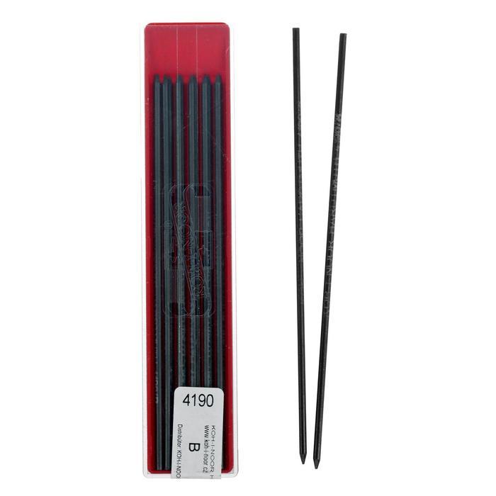 Грифели для цанговых карандашей 2.0 мм K-I-N 4190 В, 6 штук