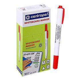 Маркер для доски Centropen 2709, 1.8 мм, красный