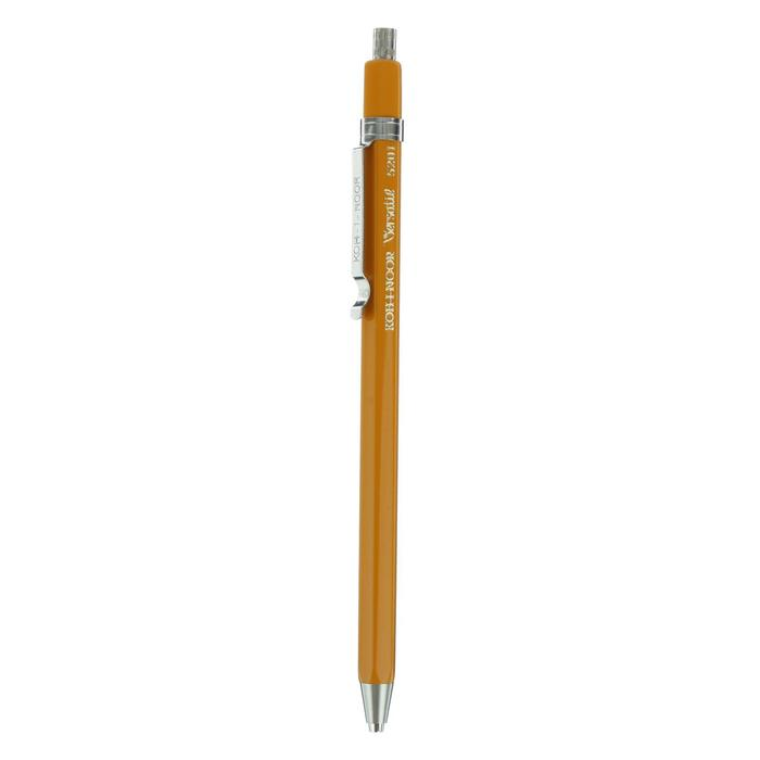 Карандаш цанговый 2.0 мм K-I-N, желтый корпус, с клипом 5201СN