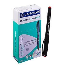Mаркер для CD/DVD 1.0 мм, Centropen 4606, красный