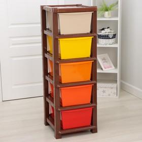 Комод 5-ти секционный «Модуль», разноцветный