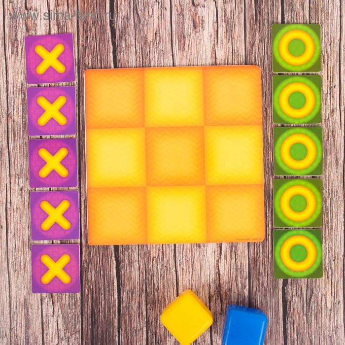 Крестики-нолики для детей, 10 деталей