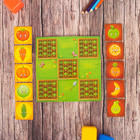 """Логическая игрушка крестики-нолики для детей """"Наш огород"""", 10 деталей"""
