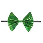"""Карнавальная бабочка """"Блеск"""" на резинке, цвет зеленый"""