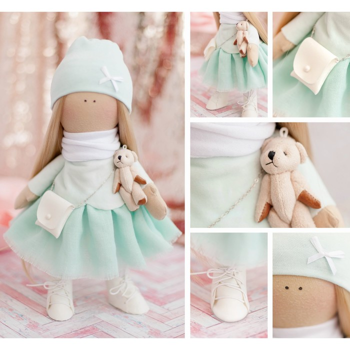 Интерьерная кукла «Кристи», набор для шитья, 18 × 22 × 3.6 см
