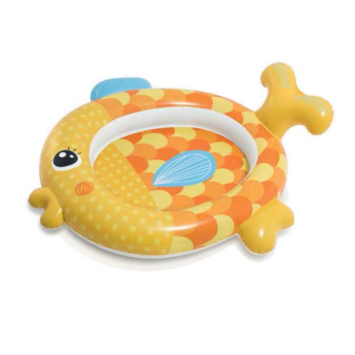 Бассейн надувной детский «Рыбка», 140 х 124 х 34 см, от 1-3 лет, 57111NP INTEX