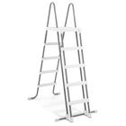 Лестница для бассейна h=130 см, со съёмными ступенями, 28077 INTEX