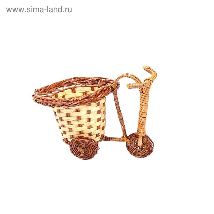 Велосипед с вазой, микс