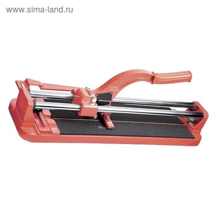 Плиткорез MATRIX, 500 х 16 мм, литая станина, каретка на подшипниках, усиленная рукоятка