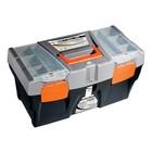 """Ящик для инструмента STELS, 590 × 300 × 300 мм, 24"""", пластик"""