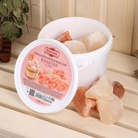 """Гималайская розовая соль """"Добропаровъ"""", колотая, 50-120мм, 2 кг"""