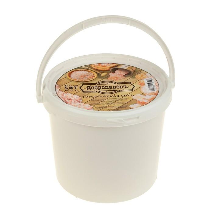 """Гималайская розовая соль """"Добропаровъ"""", колотая, 50-120мм, 5 кг"""