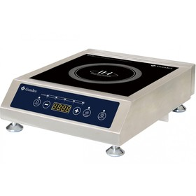 Плита Gemlux GL-IC3505, индукционная, 3500 Вт, 5 уровней мощности, серебристая