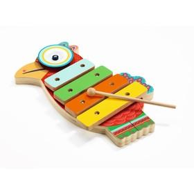 Музыкальный инструмент игрушечный ксилофон-кимвал «Петушок» в Донецке