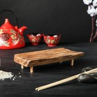 Подставка-поднос для суши, массив дуба, 20 х 10 см