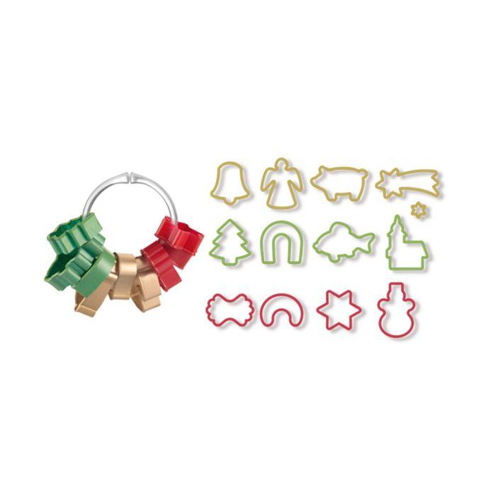 Формочки для рождественского печенья Tescoma DELICIA, размер 5 см, 13 штук