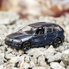 Машина металлическая BMW X5, масштаб 1:43