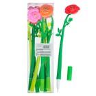 Ручка шариковая-прикол Цветок-Роза МИКС