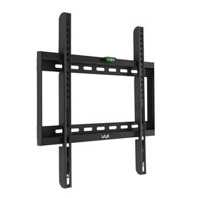 """Кронштейн VLK TRENTO-33, для ТВ, фиксированный, 26-65"""", 26 мм от стены, черный"""