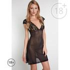 Сорочка женская Katiba цвет чёрный, р-р 48 (L)