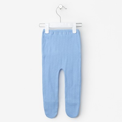 Ползунки детские, рост 74-80 см, цвет синий ш0002_М
