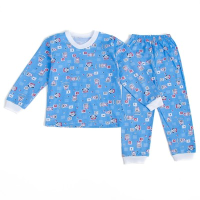Пижама детская, рост 134 см, цвет микс п10004
