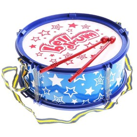 Игрушечный барабан «Звёздочка», детский, МИКС