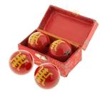 """Поющие шары Баодинга (шары здоровья) (набор 2шт) d=4 см """"Долголетие"""", цвета МИКС"""