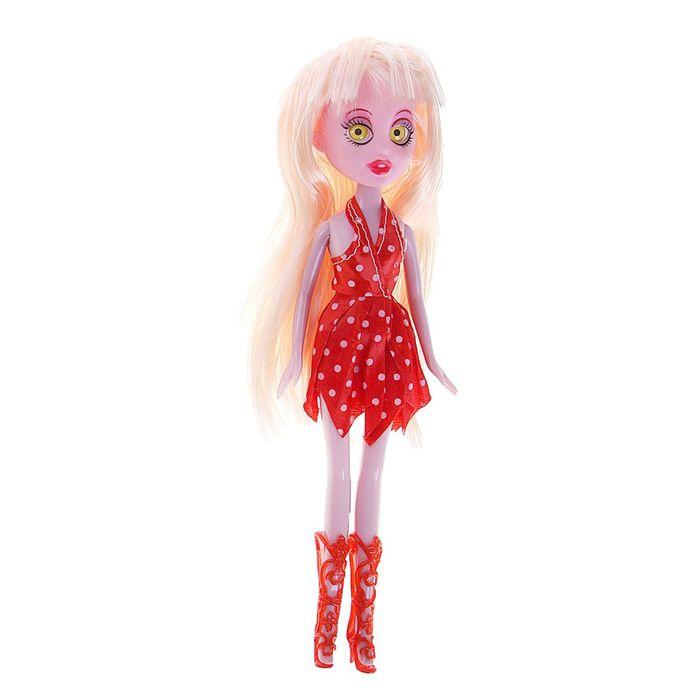 """Кукла """"Монстрик"""", с цветными глазами, МИКС"""
