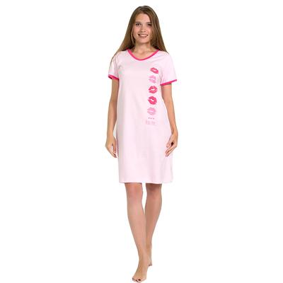 Сорочка женская 114 цвет МИКС, р-р 54