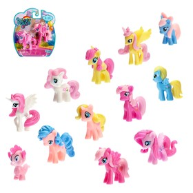 "A set of ""Pony"", 2pcs, MIX"