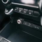 Автомобильное зарядное устройство TORSO, 12-24 В, USB 1.0 А, МИКС