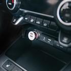 Автомобильное зарядное устройство TORSO, 2 USB 1,0 А и 2,1 А, МИКС