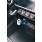 Автомобильное зарядное устройство TORSO, 12-24 В, USB 1.0 А; 2.1 А, МИКС