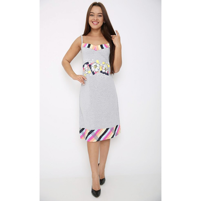 Сорочка женская 106 цвет МИКС, р-р 50