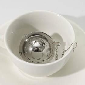 {{photo.Alt || photo.Description || 'Ситечко для чая Доляна «Ёлочка», 4,5 см, на цепочке'}}