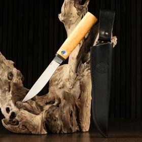 """Нож """"Якут"""", рукоять карельская береза"""