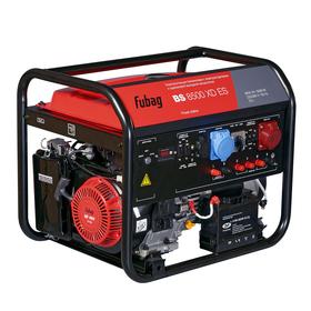 Генератор бензиновый FUBAG BS 8500 XD ES, 380/220/12 В, 8.5 кВт, 25 л