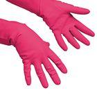 Перчатки Vilenda для профессиональной уборки, многоцелевые, размер S, цвет красный
