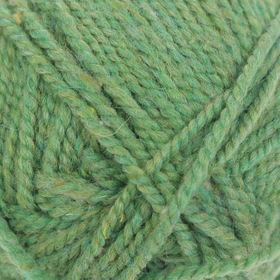 "Yarn ""Simple"" 50% wool, 50% acrylic 200m / 100g (8102, melange (green apple)"