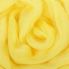 Гребенная лента 100% шерсть австрал. меринос 50гр (1342, лимон)