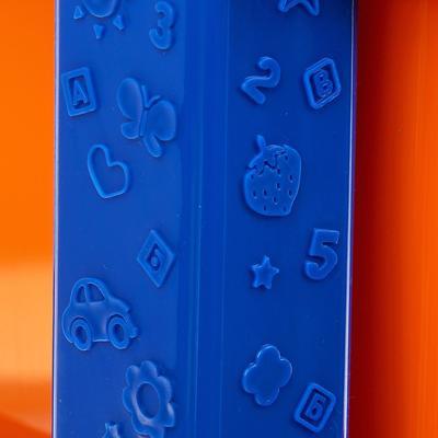 Система модульного хранения №12, цвет синий, 3 секции