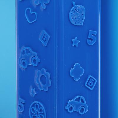Система модульного хранения №15, 4 секции, цвет синий