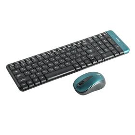 Комплект клавиатура и мышь Smartbuy 222358AG-K, беспроводной, мембранный, USB, черный